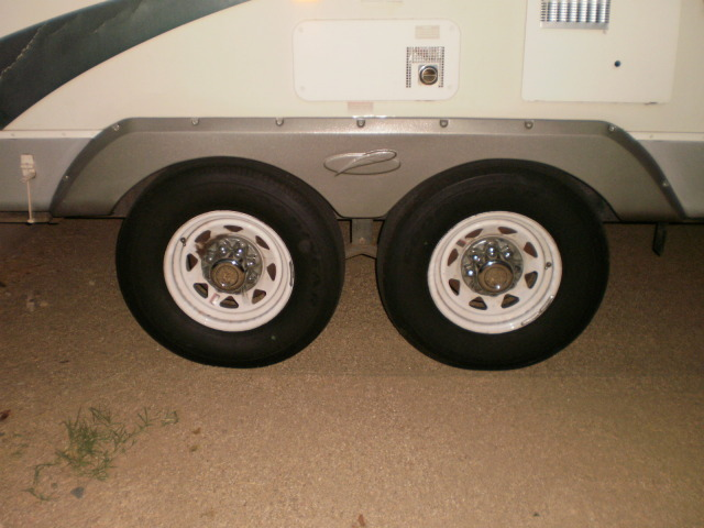 RV Repaired with New Fender Skirt